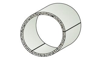 Formteil Zylinder