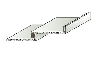 Formteil Stufenwinkel